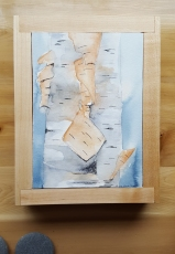 """5""""x7"""" Birch w/ Maple Frame - Available"""
