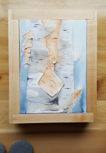 "5""x7"" Birch w/ Maple Frame - Available"