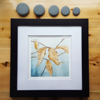 """7""""x7"""" Winter Beech Leaves - Available"""