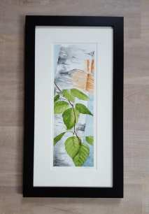 "5""x12"" Spring Birch Leaves - Available"