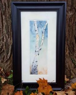 """5""""x12"""" VINS Birches -SOLD"""