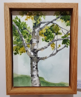 "Hartland Birch - 6""x8"" Original Watercolor"